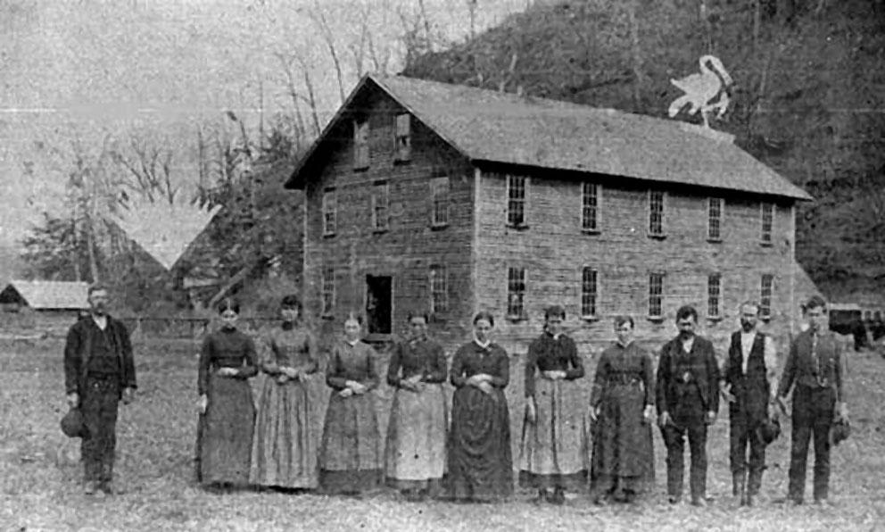 Helton Wool Factory in Littlewood