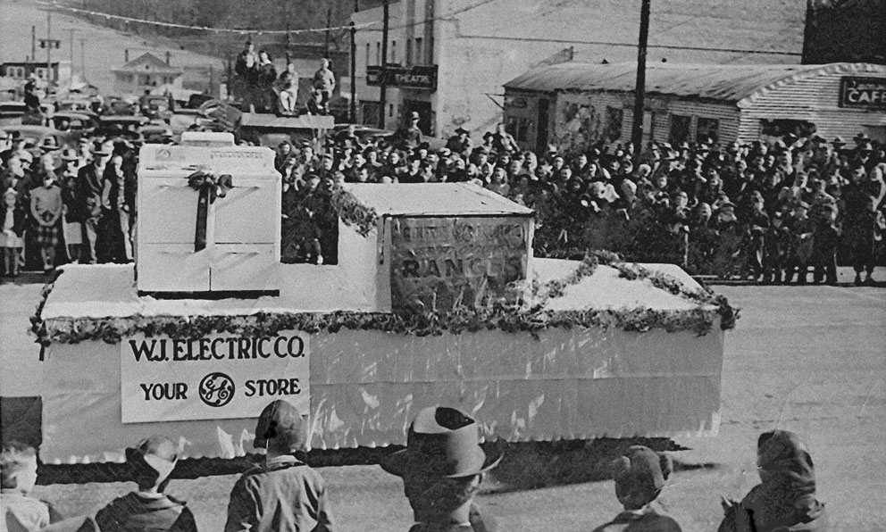 West Jefferson 1948 Christmas Parade